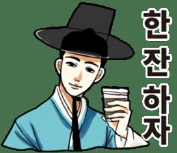 korea drama character (Korean ver.) sticker #13774434