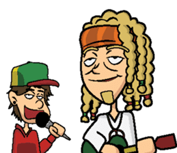 Bobby & Jimmy Reggae sticker #13779425