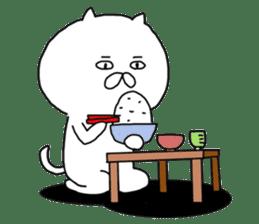 Somehow-cat sticker #13787973