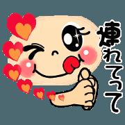 สติ๊กเกอร์ไลน์ smiley sign language which moves ver2