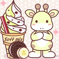 Soft mix:Giraffe 1