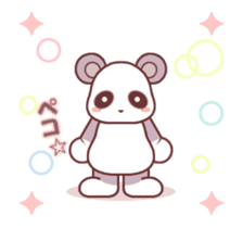 Soft mix:Panda 1 sticker #13793928