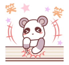 Soft mix:Panda 1 sticker #13793941