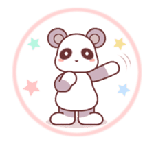 Soft mix:Panda 1 sticker #13793946