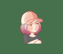 Dab Girl sticker #13797634