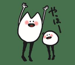 Sankaku and Mashimaro sticker #13805638