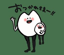 Sankaku and Mashimaro sticker #13805639