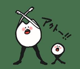 Sankaku and Mashimaro sticker #13805644