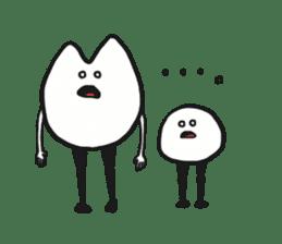 Sankaku and Mashimaro sticker #13805647