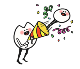 Sankaku and Mashimaro sticker #13805658