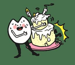 Sankaku and Mashimaro sticker #13805660