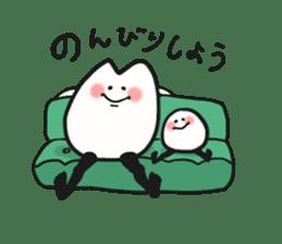 Sankaku and Mashimaro sticker #13805663