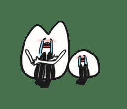 Sankaku and Mashimaro sticker #13805670