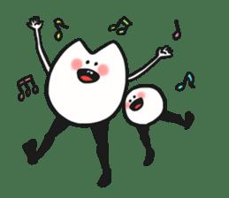 Sankaku and Mashimaro sticker #13805676