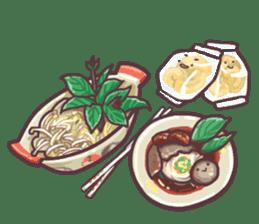 I love Thai food. (EN) sticker #13828546
