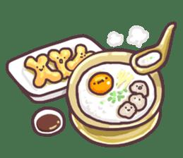 I love Thai food. (EN) sticker #13828549