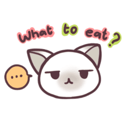 I love Thai food. (EN) sticker #13828564