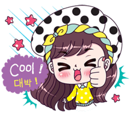 Boobib Sarang Hae Yo sticker #13839429