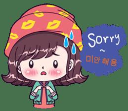 Boobib Sarang Hae Yo sticker #13839442