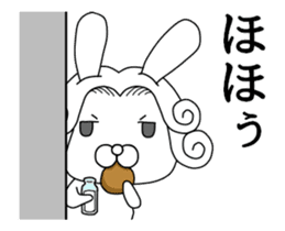 The Count RABBIT Animated 2 sticker #13841113