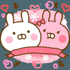 Rabbit Usahina Love winter
