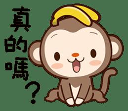 Monkey Game sticker #13852470