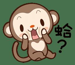 Monkey Game sticker #13852485