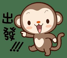 Monkey Game sticker #13852492