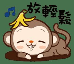 Monkey Game sticker #13852498