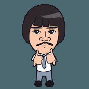 สติ๊กเกอร์ไลน์ Seniorman: Animated