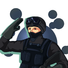 SWAT Operation Start! Animated