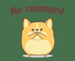 Yogi the Corgi sticker #13857359