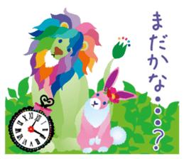 Fantastic Animal by Kayo Horaguchi sticker #13857715