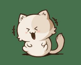 Chubby Neko-chan sticker #13860726