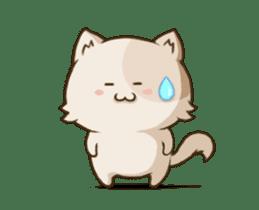 Chubby Neko-chan sticker #13860730