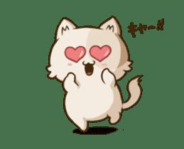 Chubby Neko-chan sticker #13860731