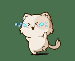 Chubby Neko-chan sticker #13860737