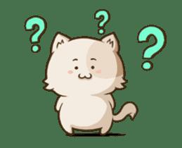 Chubby Neko-chan sticker #13860738