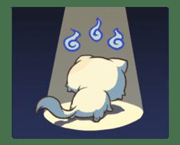 Chubby Neko-chan sticker #13860739