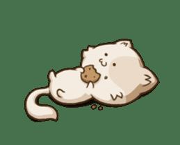 Chubby Neko-chan sticker #13860740