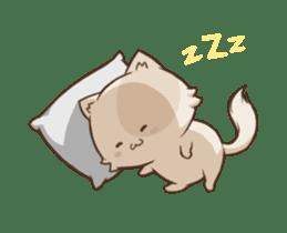 Chubby Neko-chan sticker #13860742