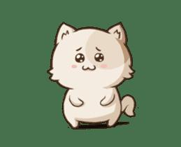 Chubby Neko-chan sticker #13860743