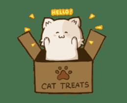 Chubby Neko-chan sticker #13860746