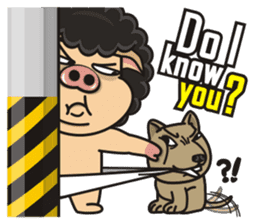 Pigman, Are you OK! - Part 2(English) sticker #13869437