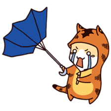 Kyo The Mighty's Weather Forecast sticker #13872663