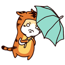 Kyo The Mighty's Weather Forecast sticker #13872667