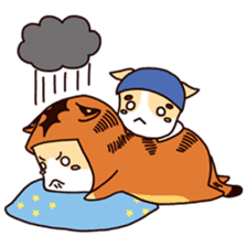 Kyo The Mighty's Weather Forecast sticker #13872677