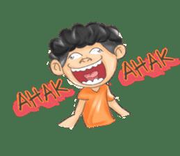 Kampung ANU 2 sticker #13874320
