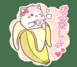 Bananya sticker #13874375