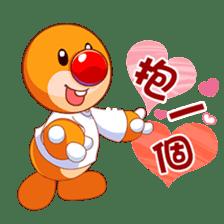 HAPPY MOLE sticker #13877049